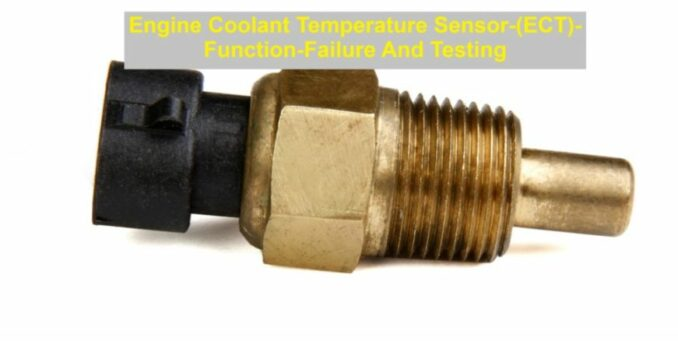 Engine Coolant Temperature Sensor-(ECT)