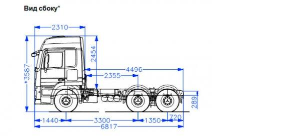Седельный тягач Mercedes-Benz Actros 3341 LS