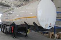 Цистерна GuteWolf для перевозки химии 32 000 л